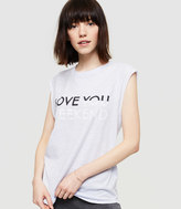 Lou & Grey Love You Weekend Airy Cotton Tee