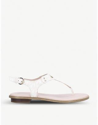 MICHAEL Michael Kors MK Plate PVC sandals