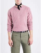 Officine Generale Fine-knit wool jumper