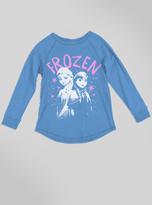 Junk Food Clothing Kids Girls Frozen Raglan-srf-m