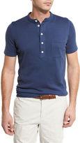Brunello Cucinelli Short-Sleeve Henley T-Shirt