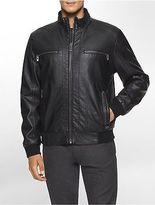 Calvin Klein Mens Bomber Zip Jacket