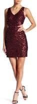 Minuet Sequin Cut-Out Dress