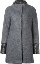 Herno double sleeve coat