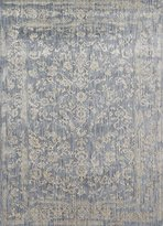"""Loloi Transitional Rectangle Area Rug 2'7""""x4' Light Blue-Ivory Florence Collection"""