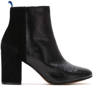 Blue Bird Shoes Duo Couro boots