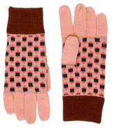 Caramel Baby & Child Girls' Patterned Wool Gloves
