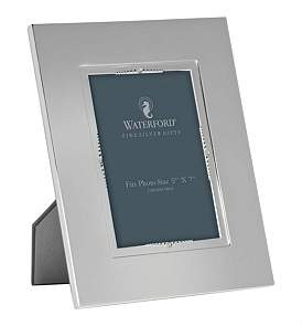 Waterford Crystal Lismore Bead Silver Frame 12.5 x 18Cm