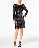 INC International Concepts Sequined Sheath Dress, Only at Macy's
