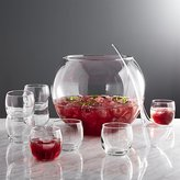 Crate & Barrel 10-Piece Punch Bowl Set