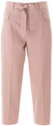 Pinko MORGAN JEANS 27 Pink Cotton, Denim