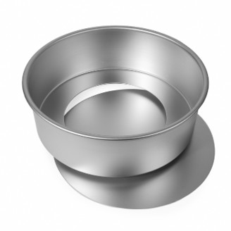 Alan Silverwood - Round Cake Tin Loose Base 12 x 4 Inch