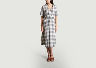 Diega - Renata Chequered Dress - L