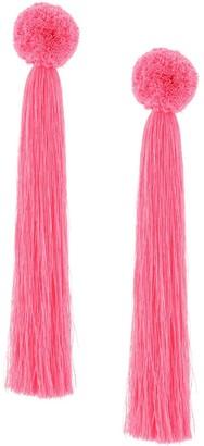 Yuliya Magdych Liza oversized tassel earrings
