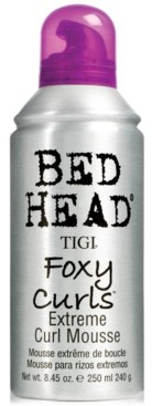 Tigi Bed Head Foxy Curls Extreme Curl Mousse, 8.45-oz, from Purebeauty Salon & Spa