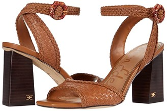 Sam Edelman Danee (Saddle/Orange Multi Milos Woven Leather) Women's Shoes