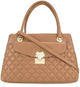 Love Moschino quilted tote - women - Polyurethane - One Size