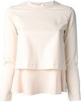Chloé double tiered blouse
