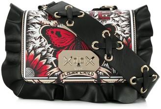 RED Valentino RED(V) Rock Ruffles crossbody bag