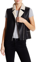 Fire Faux Shearling Vest