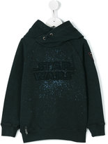 Courage And Kind Kids - Star Wars embroidered hoodie - kids - Cotton - 4 yrs