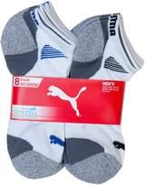 Puma Mens No show Sport Socks, Moisture Control, Arch Support (8 Pair)