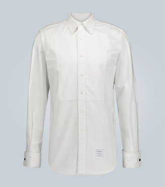 Thom Browne Exclusive to Mytheresa a bib-front tuxedo shirt