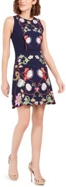 Foxiedox Iris Embroidered Dress