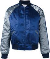 Comme des Garcons metallic bomber jacket