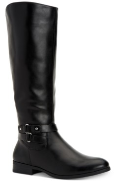 Style&Co. Style & Co Kindell Riding Boots, Created for Macy's Women's Shoes