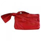 RED Valentino VALENTINO Red Leather Clutch bag
