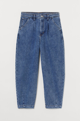 H&M Balloon Ultra High Ankle Jeans