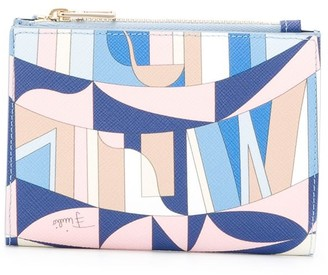 Emilio Pucci Sirens Song print compact wallet