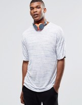 Asos Oversized T-shirt In Slub Fabric