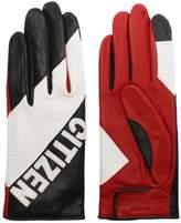 Agnelle Kei Multicoloured Leather Citizen Gloves