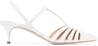 Rosie Assoulin Lattice Slingback 50mm Sandals