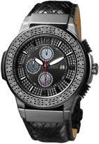 JBW Men's Saxon Stainless Steel & Diamond Watch, 46mm