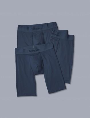 Tommy John Air Mesh Boxer Brief 3 Pack, Dress Blues
