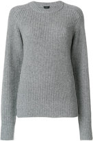 Joseph ribbed chunky jumper