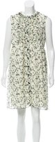 Anna Sui Printed Silk Dress