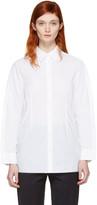 MM6 MAISON MARGIELA White Button Back Shirt