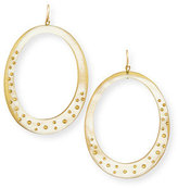 Ashley Pittman Mzima Studded Oval Drop Earrings