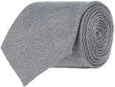 Harrods Of London Birdseye Wool Tie