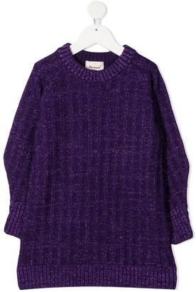 Mariuccia Milano Kids Rib Knit Jumper