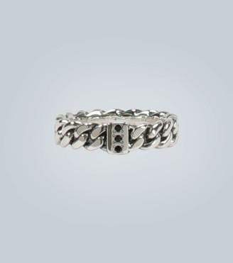 Tom Wood Spinel-set sterling silver ring