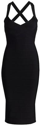 Herve Leger Icon Midi Dress