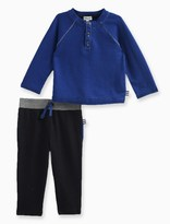 Splendid Baby Boy Henley Top with Pant Set