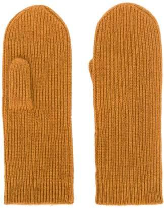 Isabel Marant ribbed mittens