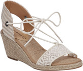Lucky Brand Women's Kasidee Ghillie Espadrille Wedge Sandal