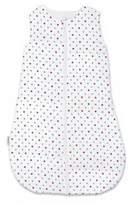 Bebe Au Lait Polka Muslin Full-Zip Wearable Blanket